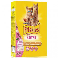 Friskies Kitten (курица, морковь, молоко)